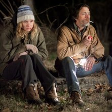 Ree Dolly (Jennifer Lawrence) and Teardrop (John Hawkes) nel film Winter's Bone