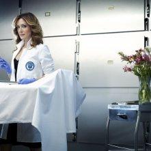 Sasha Alexander in una foto promozionale della serie Rizzoli & Isles