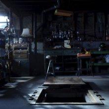 Un'immagine del misterioso buco nell'horror The Hole in 3D