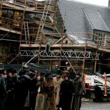 Una delle prime immagini dal set del film Burke and Hare