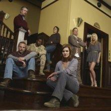 Una immagine promozionale del cast della serie Persons Unknown