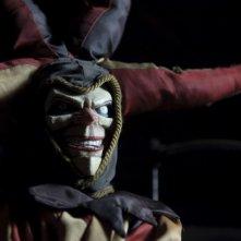 Una terrificante immagine tratta dall'horror The Hole in 3D