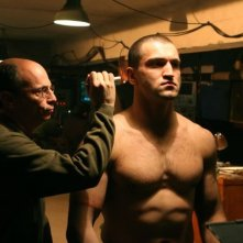 Andrei Arlovski  in una sequenza del film Universal Soldier: Regeneration