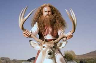 Una bizzarra immagine di Sam Rockwell dal film Gentlemen Broncos