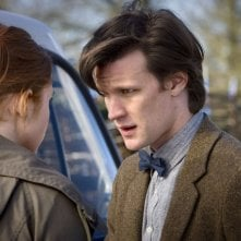 Matt Smith e Karen Gillan dall'episodio Amy's Choice di Doctor Who