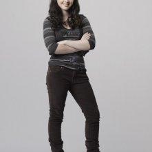 Vanessa Marano è Hope West in una foto promozionale della serie Scoundrels