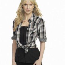 Leverage: Beth Riesgraf in una foto promozionale della stagione 3 della serie