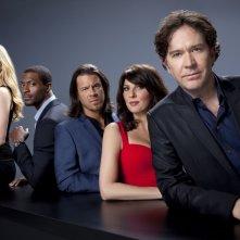 Leverage: Una foto promozionale del cast della stagione 3