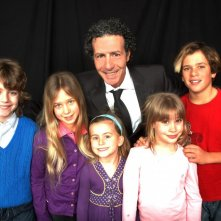 Sergio Martinelli con Giulio Maria Furente, Arianna Tornari,  Karen Ciaurro,  Nicole Cherubini e Brando Pacitto.