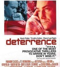 La locandina di Deterrence - Minaccia nucleare