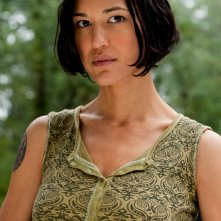 Julia Jones nel ruolo di Leah Clearwater nel film The Twilight Saga: Eclipse