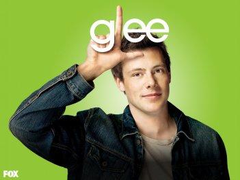 Un wallpaper di Cory Monteith per la stagione 1 di Glee