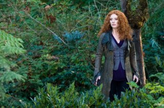 Una scena del film The Twilight Saga: Eclipse con la diabolica Victoria (Bryce Dallas Howard)