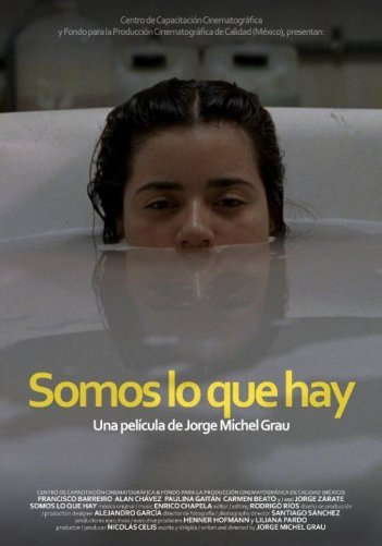 Locandina dell'horror 'cannibalico' messicano We Are What We Are.