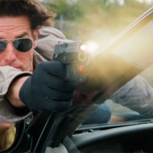 Primo piano di Tom Cruise dall'action Innocenti bugie