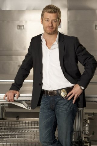 Nicholas Bishop in una foto promozionale di Body of Proof
