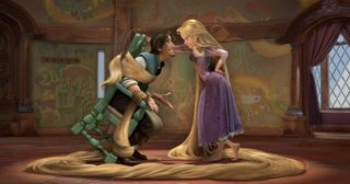 Una sequenza del cartoon Rapunzel - L\'intreccio della torre
