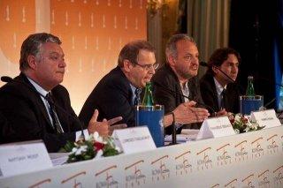 Un'immagine della presentazione del Roma Fiction Fest 2010