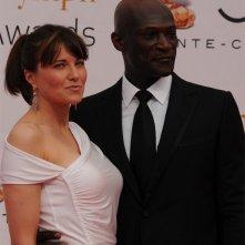 Lucy Lawless e Peter Mensah di Spartacus al Monte Carlo Television Festival 2010