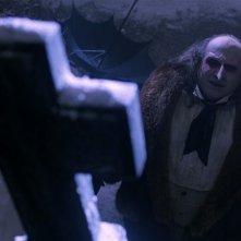 Danny DeVito in una scena del film Batman - il ritorno di Tim Burton