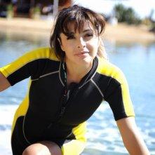 Elena Russo in una scena della commedia Sharm El Sheikh - Un'estate indimenticabile