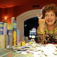 Fioretta Mari in una scena della commedia Sharm El Sheikh - Un'estate indimenticabile