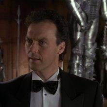 Michael Keaton in una scena del film Batman (1989)