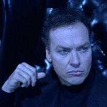 Michael Keaton in una scena del film Batman - il ritorno (1992)
