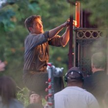 Robert Pattinson sul set di Water for Elephants