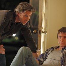 Sam Trammell e Marshall Allman in una scena della stagione 3 di True Blood