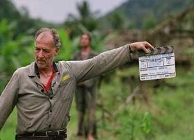 Werner Herzog sul set del film My Son, My Son What Have Ye Done