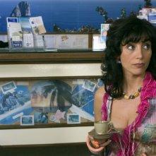 Antonella Stefanucci in una scena di Capri, fiction di RaiUno