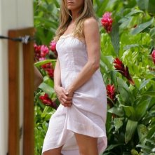 Jennifer Aniston sul set di Just Go With It