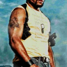 Quinton 'Rampage' Jackson in una foto promozionale del film A-Team