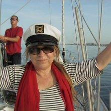Syusy Blady nel programma Popoli del mare, in onda su Y&S nel 2010