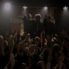 Un'immagine del violento gruppo di neonazi dal film Brotherhood (Broderskab)