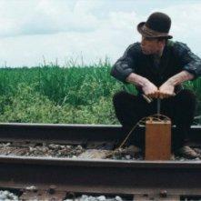 Michael Fassbender in una scena di Jonah Hex