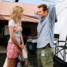 Sandra Bullock e Bradley Cooper nel film All About Steve