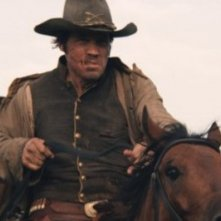 Un'immagine di Josh Brolin dal western Jonah Hex