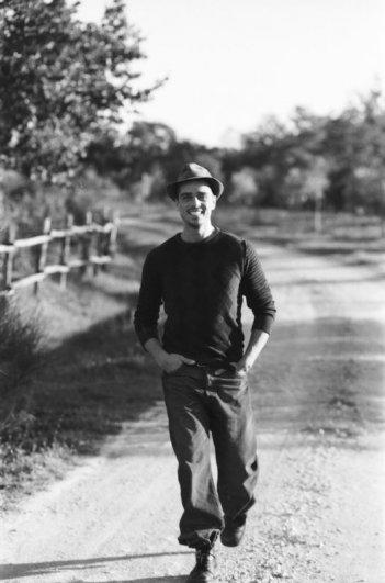 Massimiliano Varrese in una fotografia di Dario J. Laganà