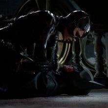 Michael Keaton e Michelle Pfeiffer in una scena del film Batman - il ritorno