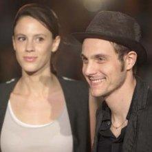 Chiara Martegiani e Eros Galbiati al Festival La Primavera del Cinema Italiano 2010