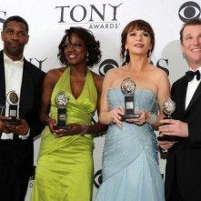 Tony Awards 2010: Denzel Washington, Viola Davis, Catherine Zeta-Jones e Douglas Hodge