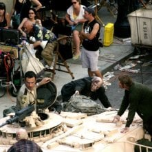 Una delle prime immagini della serie The Walking Dead