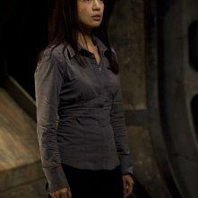 Camille (Ming-Na) in un momento dell'episodio Incursion: Part 2 di Stargate Universe