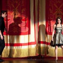 Cory Monteith e Lea Michele in una sequenza dell'episodio Journey di Glee