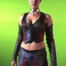 Un'immagine promo di Kristanna Loken per il film BloodRayne
