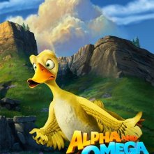Character Poster USA per Alpha and Omega - He'll Quack You Up