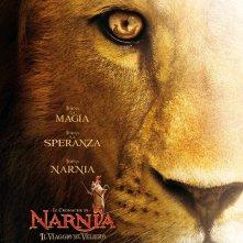Locandina italiana di Le cronache di Narnia: Il viaggio del veliero