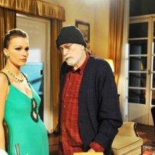 Tomas Milian nel serial Roma Nuda con Eva Henger